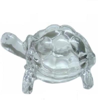 Shubh-Bhakti Energized Crystal Tortoise Showpiece  -  4 cm