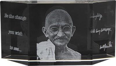 Eternal Gandhi Multi Faceted Showpiece  -  6.5 cm