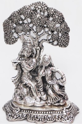 Gulshan Arts Crafts Radha krishna Tree Showpiece  -  5 cm