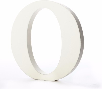 ShopperBay Alphabet O Showpiece  -  15.2 cm