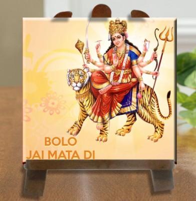 Tiedribbons Goddess Durga Statue Tile Showpiece  -  26 cm