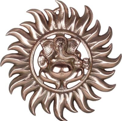 F Gear Surya Appu Ganesh Plate Showpiece  -  26 cm