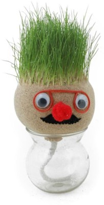 Flintstop Grass Head Showpiece  -  8 cm