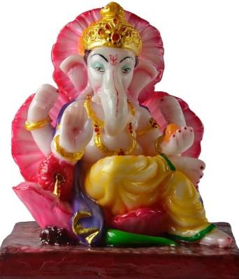Mikkis Rakta Pushpam Ganesha Showpiece  -  25 cm