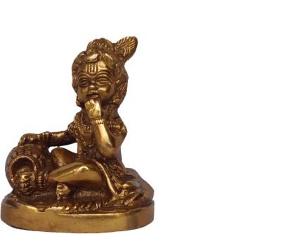 Quality Mart Brassware Baalgopal Krishnaji Idol Showpiece  -  8.2 cm