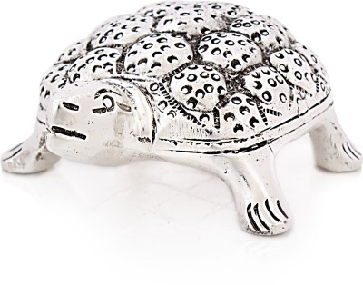 Snowfinch Crafted Alloy Tortoise/Turtle Showpiece  -  4 cm