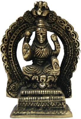 Divya Mantra Goddess Laxmi Brass Statue Showpiece  -  7.5 cm