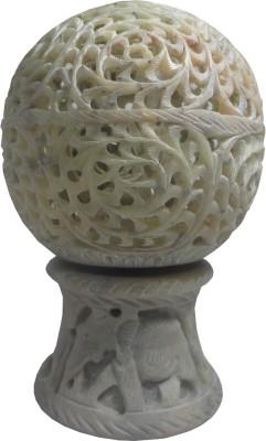 Avinash Handicrafts Stone Moving Ball 14 cm Showpiece  -  14.5 cm