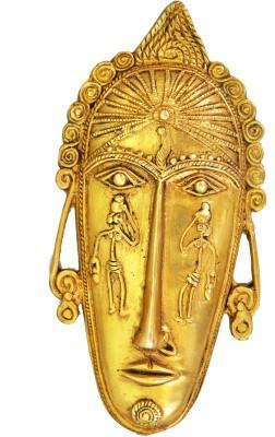 Aakrati Wall Decoration Showpiece  -  2 cm(Brass, Gold)