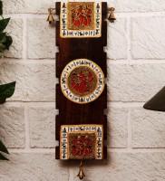 Unravel India Showpiece  -  15 cm(Wooden, Brown) best price on Flipkart @ Rs. 1549