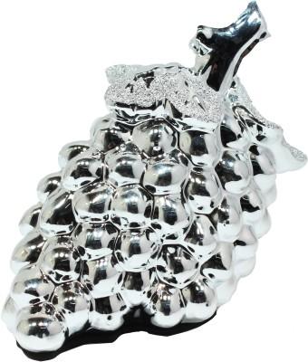 Qian Qian Premium Range Showpiece  -  14 cm(Ceramic, Silver)