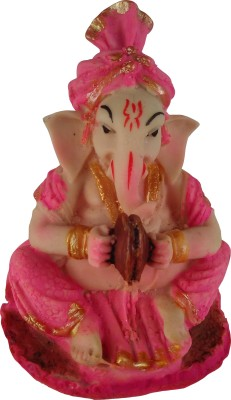 Giftvalley Exclusive MANJEERA GANESH STATUE Showpiece  -  13 cm
