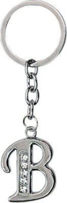 S.B.Enterprises Alphabet letter B Key chain Showpiece  -  4 cm(Steel, Steel)