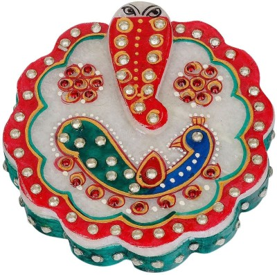 Gaura Art & Crafts Showpiece  -  4 cm(Alloy, Multicolor)
