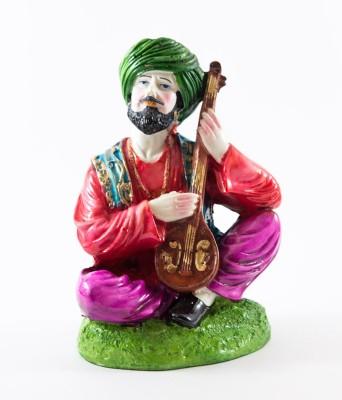 GiftsCellar Rajasthani Man With Violon Showpiece  -  20 cm