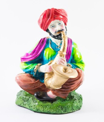 GiftsCellar Rajasthani Man Showpiece  -  22 cm