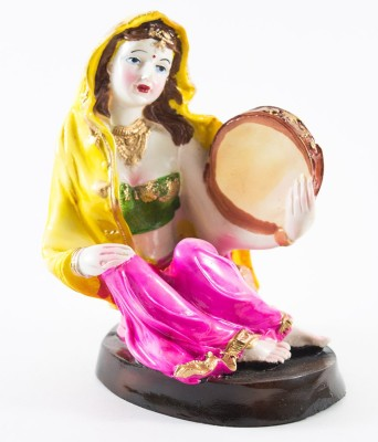 GiftsCellar Lady Sitting Showpiece  -  22 cm