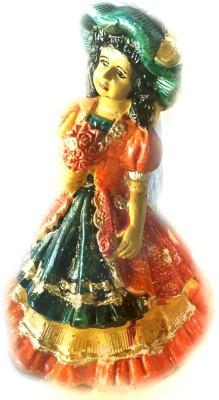 Samyak Corporation multicolor lady Showpiece  -  30 cm