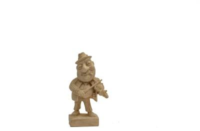 Velha Goa Mario Miranda Violinist Figurine Showpiece  -  11.43 cm