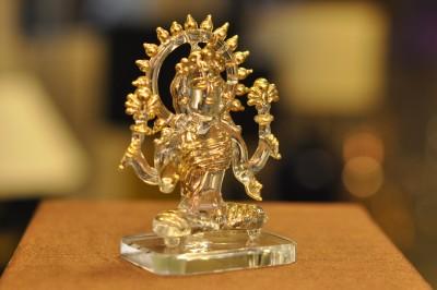 Sutra Decor Laxmi Mata God Idol Showpiece  -  6.25 cm