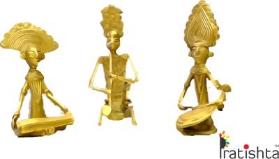 PRATISTHA Showpiece  -  15 cm(Brass, Multicolor)