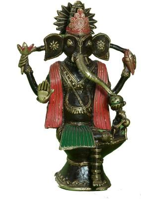 Lavanaya Bastar Art Ganesh Showpiece  -  23 cm