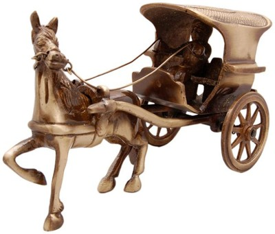 Aakrati Horse Cart Made For Decor Showpiece  -  10 cm