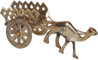 Homedesires Showpiece  -  9 cm(Brass, Gold)