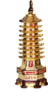Vastu Art Feng Shui / Education Tower For Academic Success For Child's Study Table Showpiece  -  14 cm