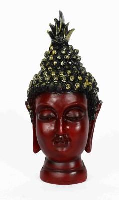 KHUSHI HANDICRAFTS BROWN BUDDHA Showpiece  -  15.5 cm