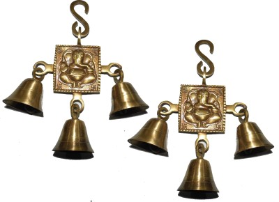 Ayant Ganesh Wind Chimes Showpiece  -  16 cm