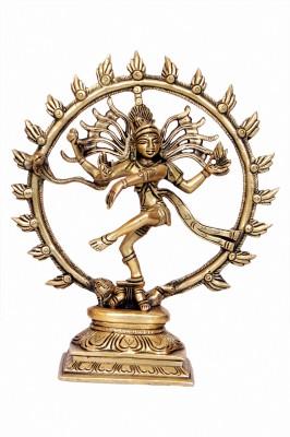 Classic Handicrafts brass dancing nataraja statue Showpiece  -  20.32 cm