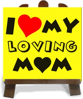 Tiedribbons Gifts For My Loving Mom Tile Showpiece  -  28 cm