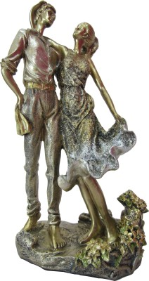 Speakfortune Valentine Special Hum Tum Couple Dancing In Love - Perfect Gift For Loved One Showpiece  -  31 cm