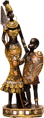 Oyedeal African Tribal Mother and Child GFT394 Showpiece  -  21.5 cm