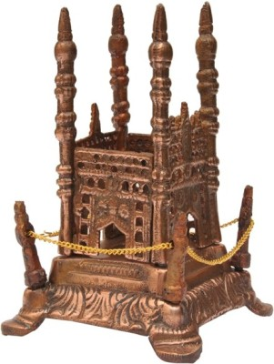 Sri Alankar Black Metal Charminar Idol Showpiece  -  14.5 cm