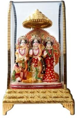 Shree Krishna Handicrafts And Gallery Ram Darbar Intouch Cabinet Showpiece  -  26 cm