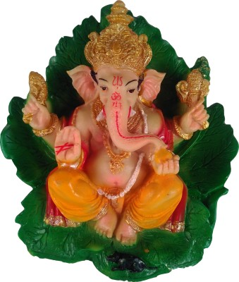 Giftvalley Exclusive Patha Ganesha Showpiece  -  18 cm