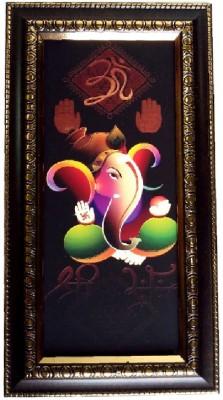 Divine Temples Showpiece  -  27 cm(Wooden, Multicolor)