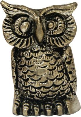 Divya Mantra Brass Owl Statue Showpiece  -  5.5 cm