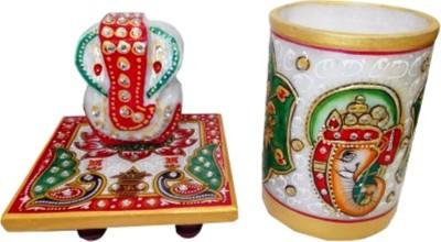 Gaura0141302020 Showpiece  -  10 cm(Stoneware, Multicolor)