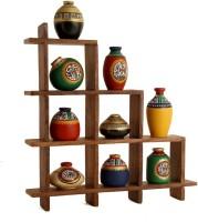 Unravel India Showpiece  -  33 cm(Wooden, Terracotta, Multicolor) best price on Flipkart @ Rs. 2599