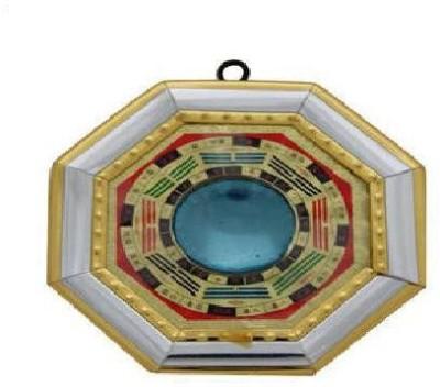 Shubh-Bhakti Feng Shui Bagua Mirror Showpiece  -  12 cm