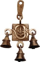 Handecor Om Ganesh Brass Decorative Bell(Brown, Pack of 1)