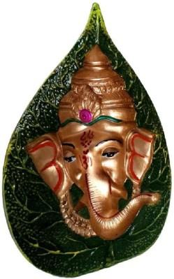 Divine Temples Ganesha Statue - 15 cm Height Showpiece  -  15 cm(Polyresin, Multicolor)