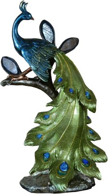 GiftsGannet Antique Peacock Showpiece  -  35 cm