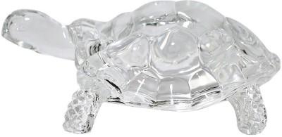 True Deal Crystal Tortoise Showpiece  -  5 cm