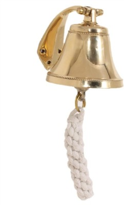 Home Sparkle Door Bell Showpiece  -  8.5 cm(Brass, Gold)