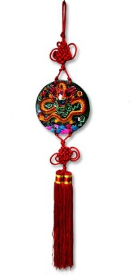7 Ocean Feng Shui Dragon Wall Hanging Showpiece - 11 cm