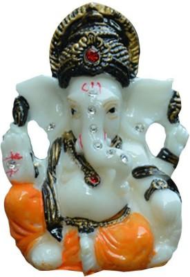 AA Ganesh Idol3 shree Ganesh Showpiece  -  4 cm